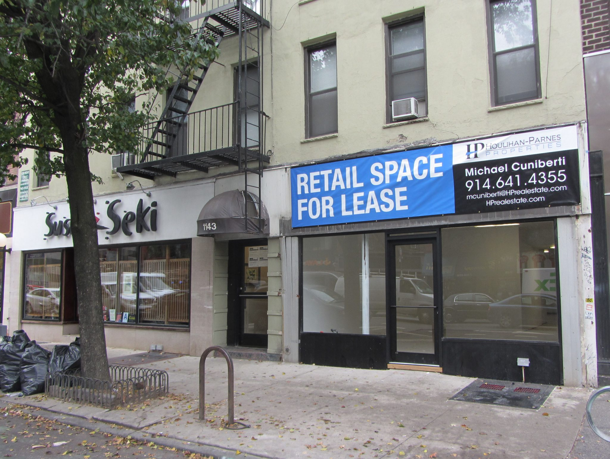 1143 First Avenue – Store 2, New York, NY  10065